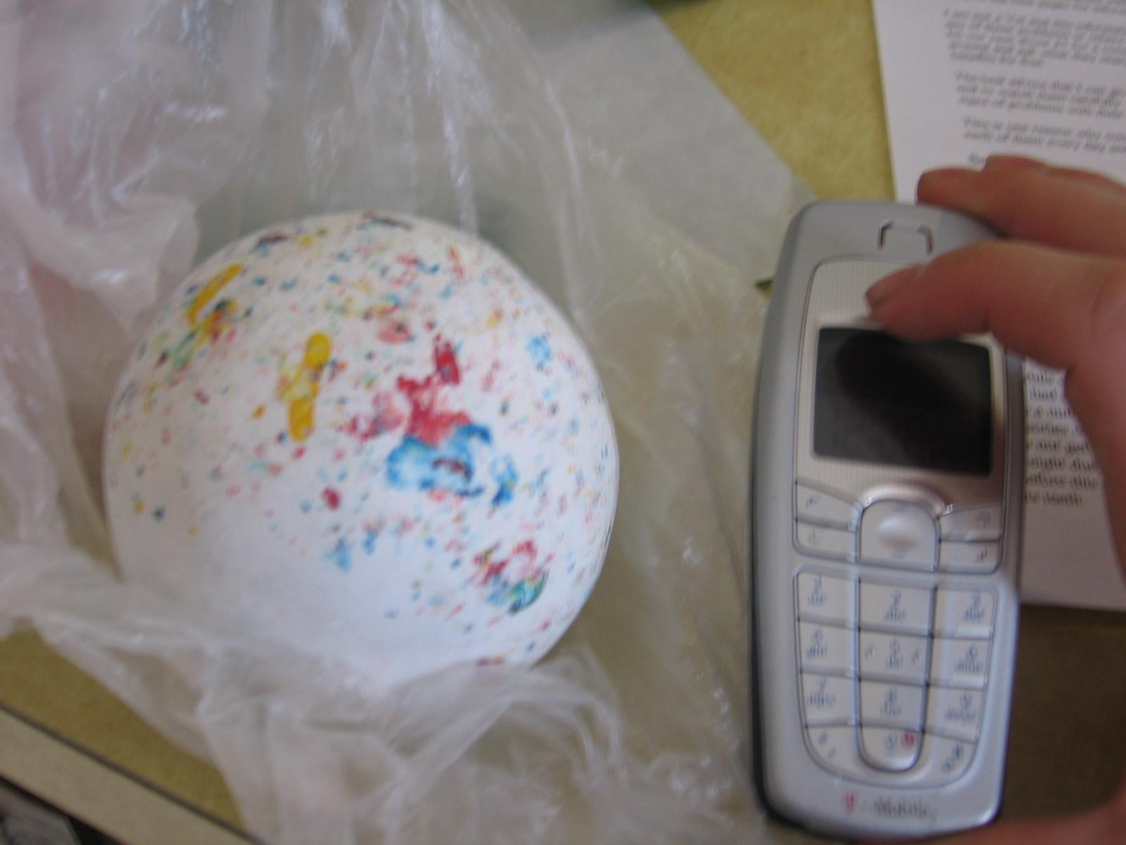 Heres a random picture of a huge jaw breaker I just got.