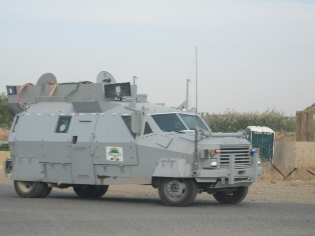 Some kind of heavily armored vehicle